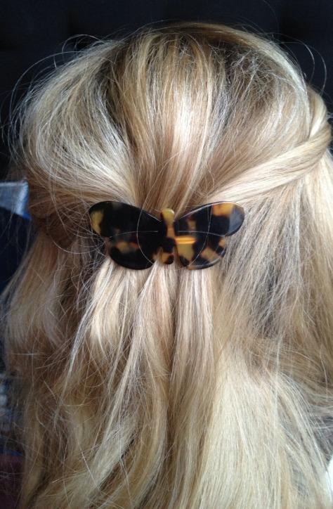 Stone Bridge Butterfly hair clip