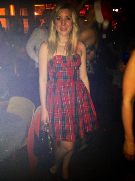 Jack Wills tartan dress