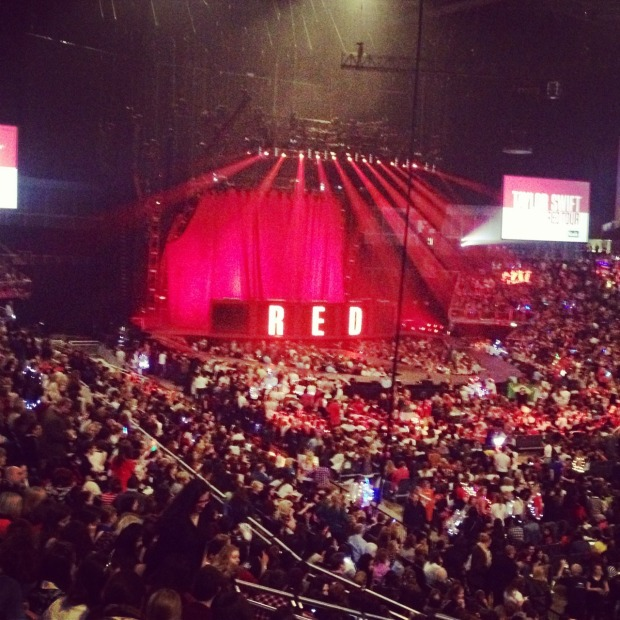Taylor Swift's Red tour at the O2