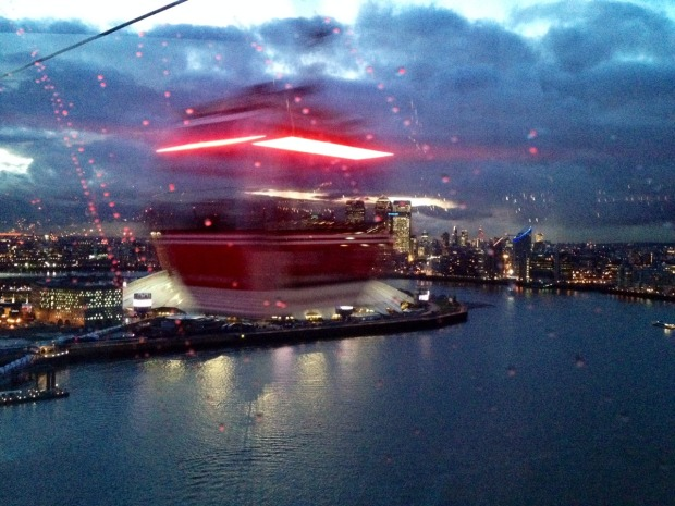Amazing views of the Thames from the Sky Line