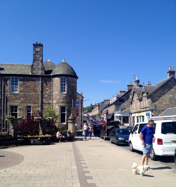 Pitlochry market town