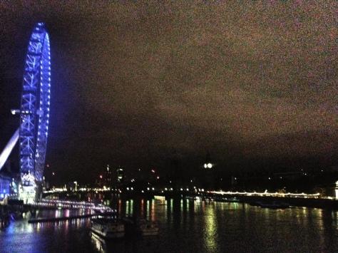 Southbank at night