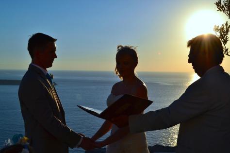 Wedding in Oia